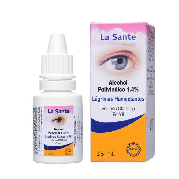 ALCOHOL POLIVINILI 1,4% SOLUCIÓN OFTÁLMICA X15ML