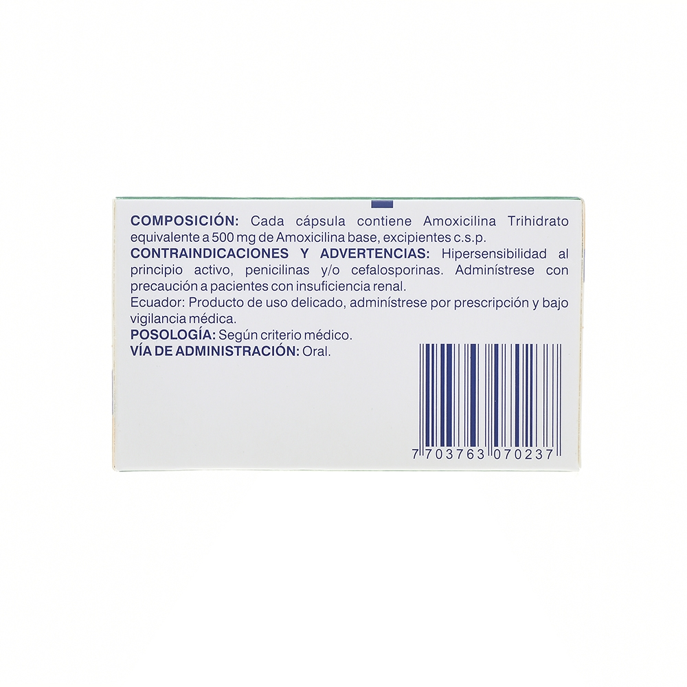 AMOXICILINA 500MG CAP CJAX50 COL