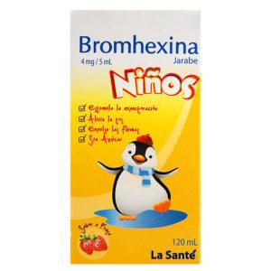 BROMHEXINA 4MG/5ML JBE FCOX120ML COL