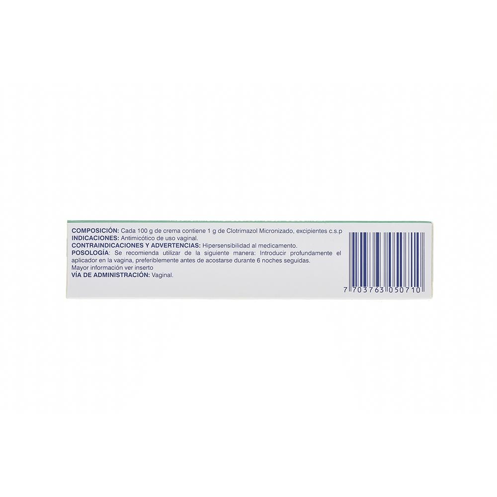 CLOTRIMAZOL 1% CREMA VAGINAL X40G