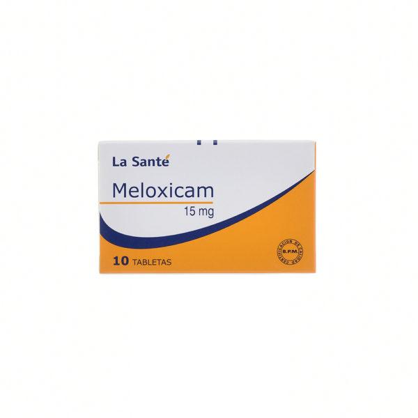 MELOXICAM 15MG TABLETAS X10