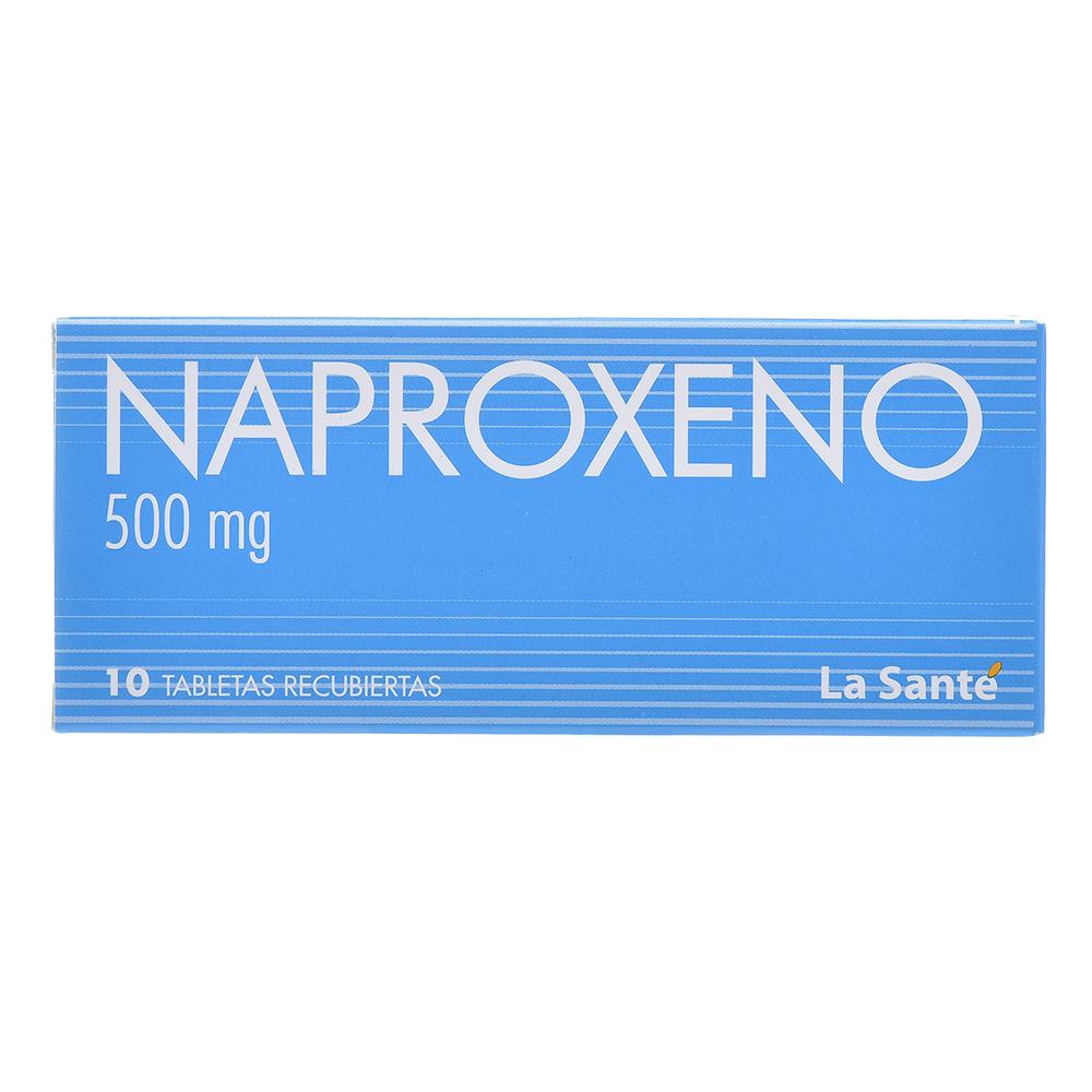 NAPROXENO 500mg X 10 TAB REC NF