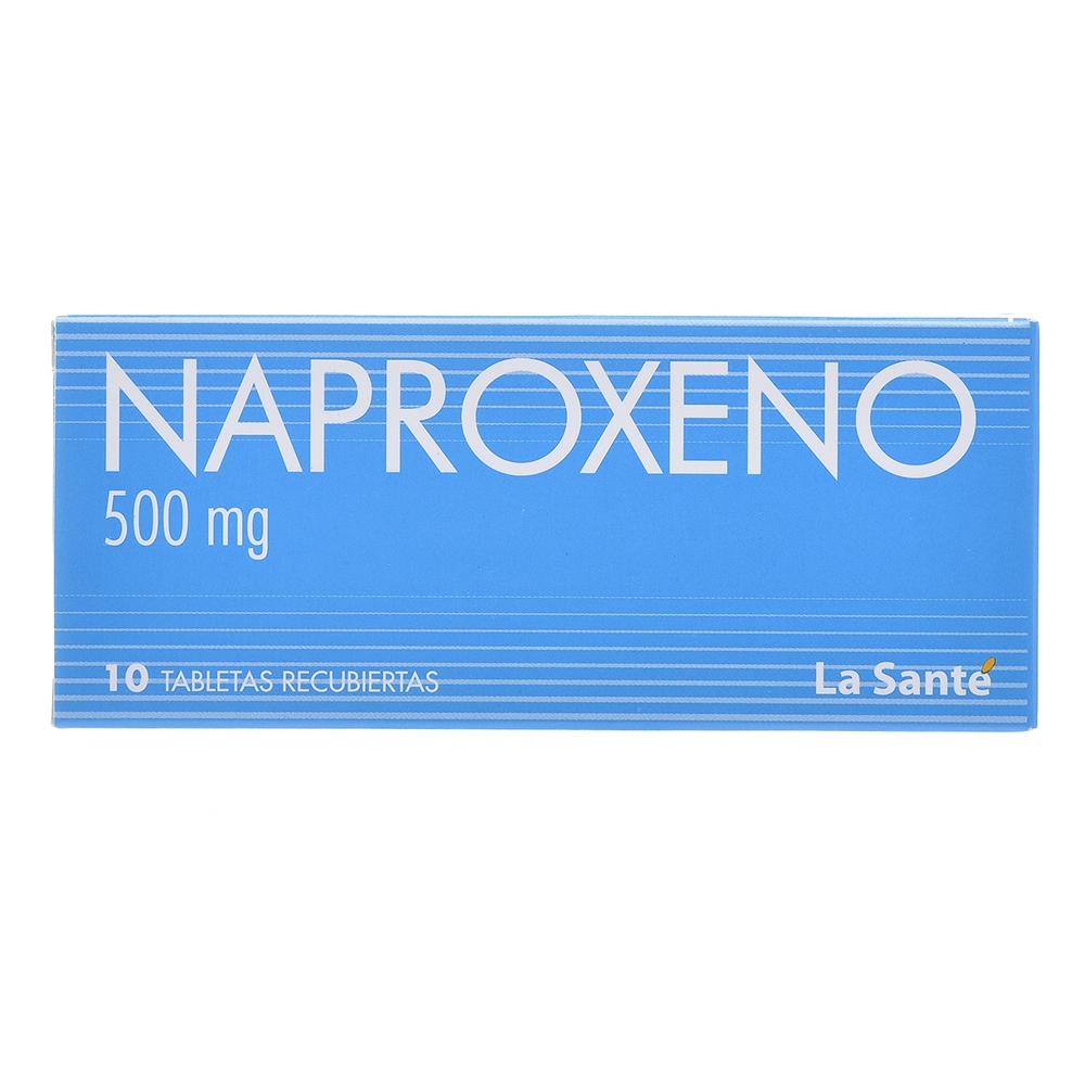 NAPROXENO 500mg TABLETAS RECUBIERTAS X10