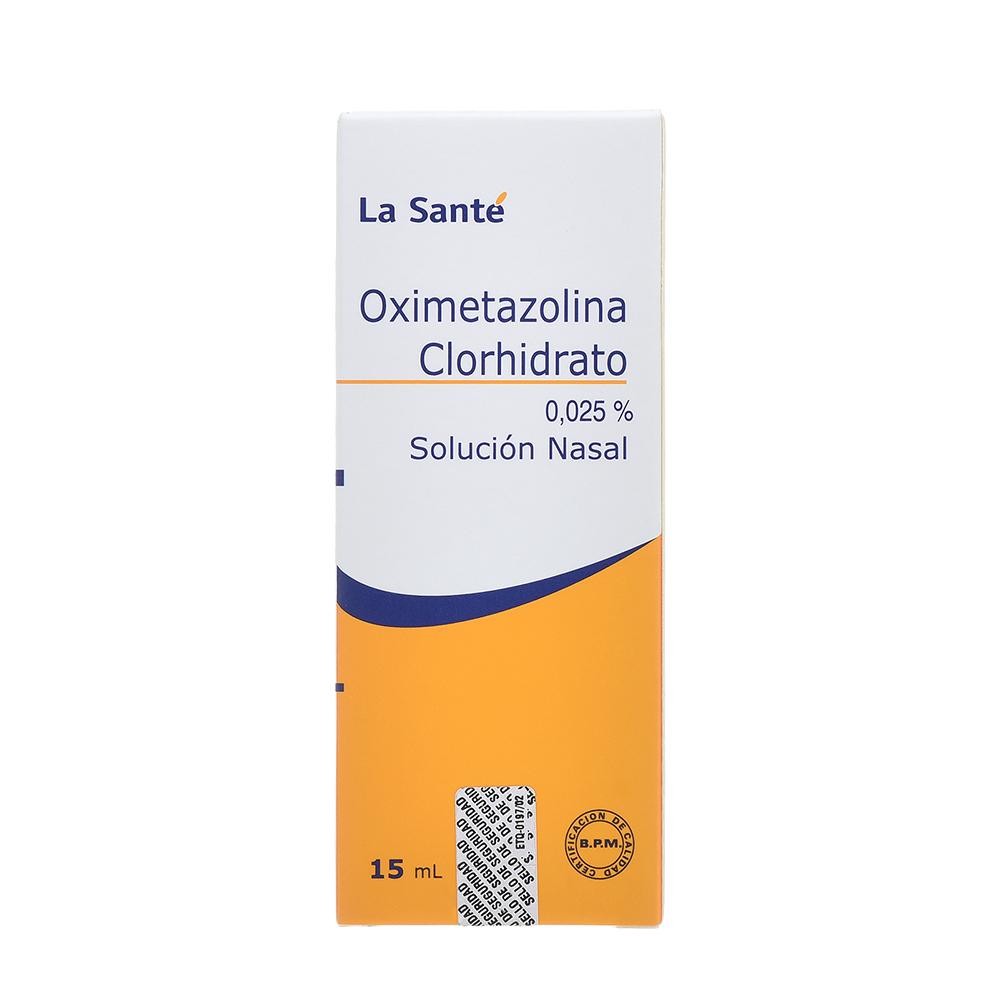 OXIMETAZOLINA 0,025%SLN NAS FCOX15ML COL