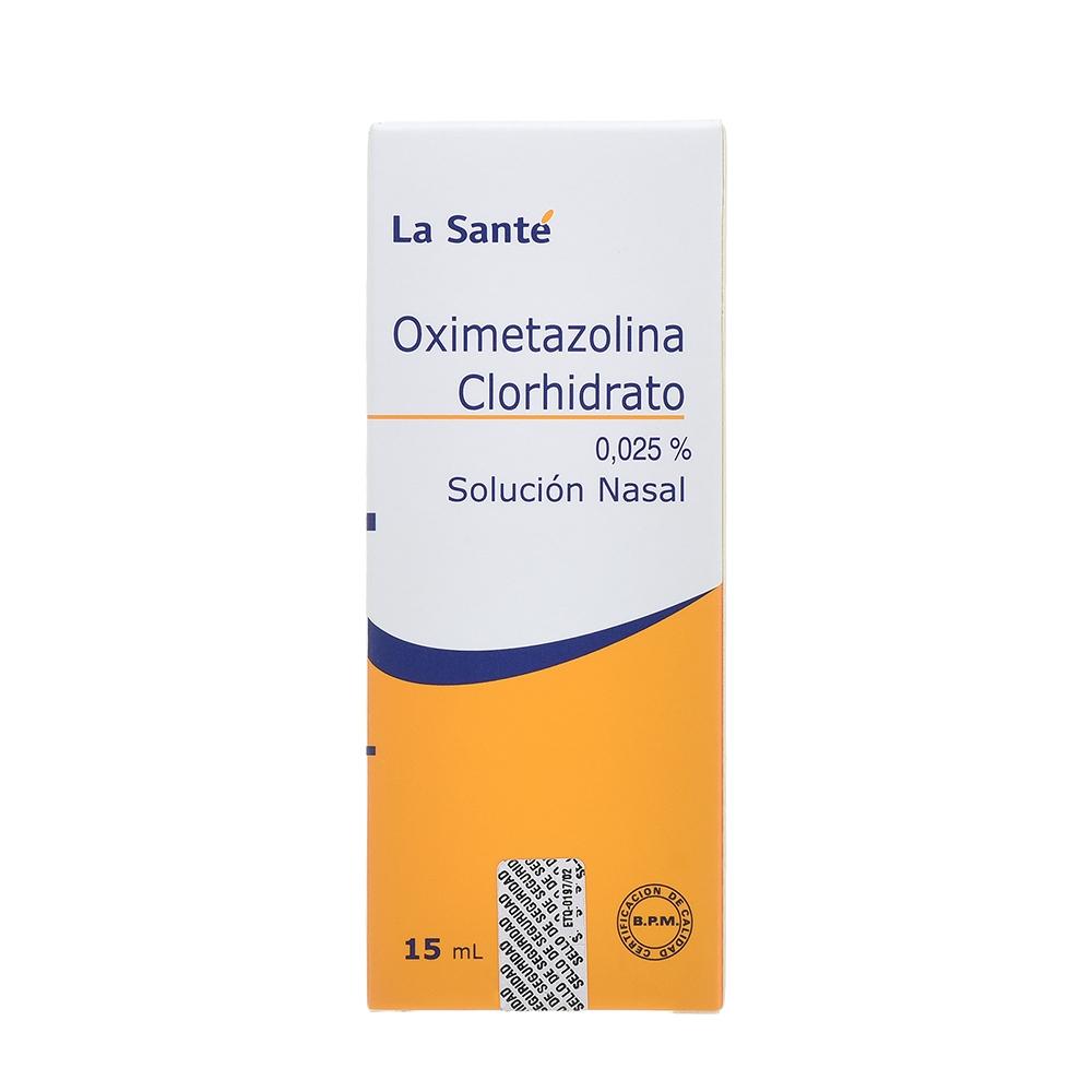 OXIMETAZOLINA 0,025%SOLUSIÓN NASALX15ML