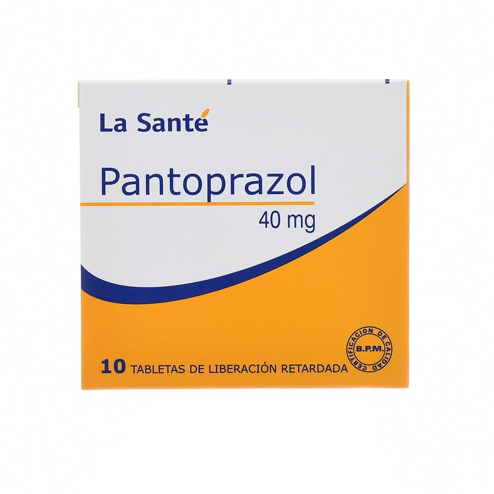 PANTOPRAZOL 40 MG TABLETAS  X 10