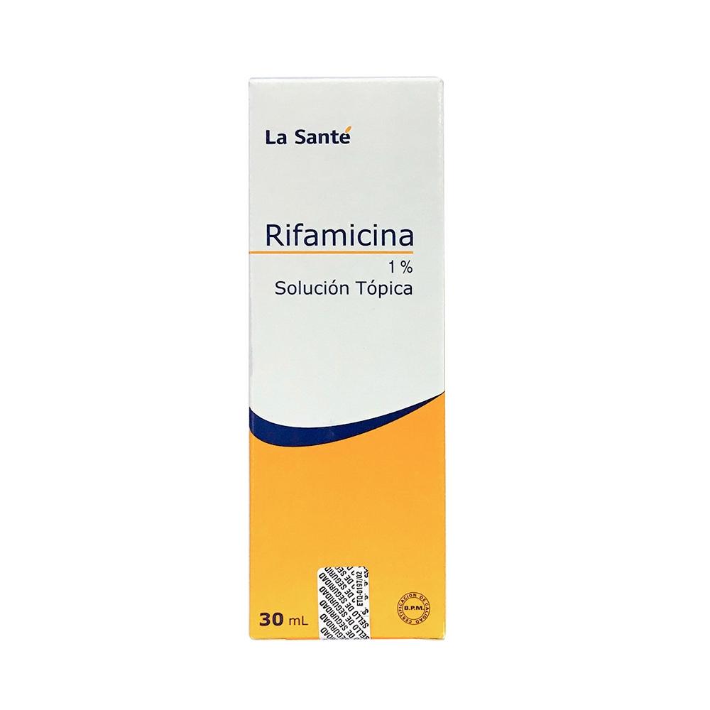 RIFAMICINA 1% SOLUCIÓN TÓPICA X 30ML