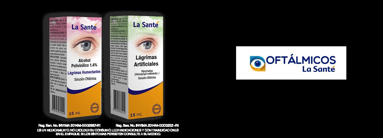 Oftálmicos La Sante