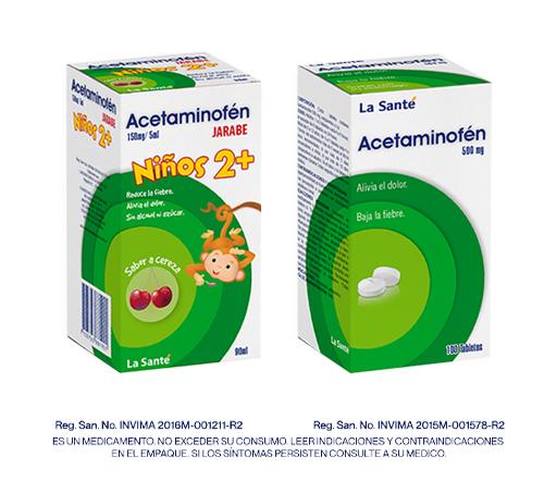 Acetaminofen La Sante